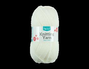 Wholesale Acrylic Baby Cream Knitting Yarn | Gem Imports Ltd
