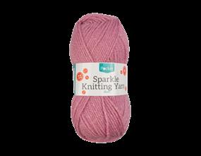 Wholesale Sparkle Blush Acrylic Knitting Yarn 50g | Gem Imports Ltd
