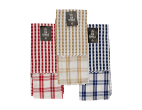 Wholesale Terry & Waffle Tea Towels | Gem Imports Ltd