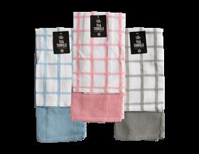 Wholesale Plain & Waffle Tea Towels | Gem Imports Ltd