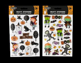 Kids Craft Halloween Stickers