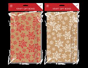 Wholesale Kraft Printed Flat Pack Gift Boxes   Gem Imports Ltd