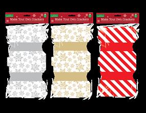 Wholesale Make Your Own Christmas Cracker Kit | Gem Imports Ltd