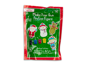 Wholesale Make Your Own Festive Figures 4 Pack | Gem Imports Ltd