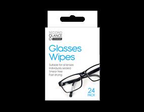 Glasses Lens Wipes - 24 Pack