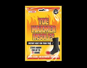 Wholesale Toe Warmer Insoles | Gem Imports Ltd