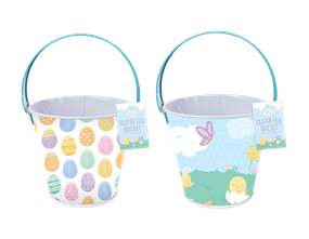 Wholesale Metal Easter Treat Buckets | Gem Imports Ltd