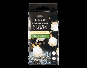 Wholesale Moroccan String Lights - 8 Leds | Gem Imports Ltd