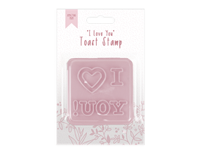 Mother's Day I Love You Toast Stamp