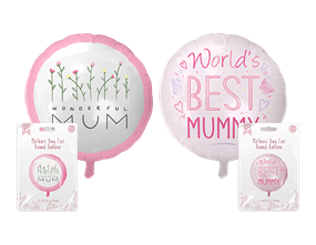 """Mother's Day Round Foil Balloon 18"""""""