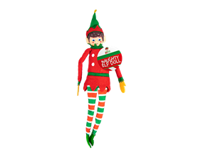 Wholesale Christmas Naughty Elf Doll | Gem Imports Ltd