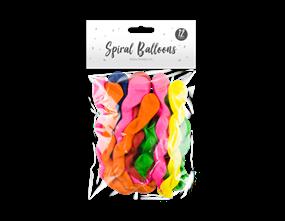 Wholesale Spiral Balloons | Gem Imports Ltd