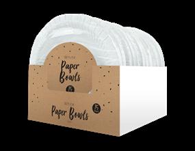 Wholesale Disposable White Paper Bowls | Gem Imports Ltd