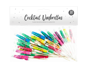 Wholesale Party Cocktail Umbrellas | Gem Imports Ltd