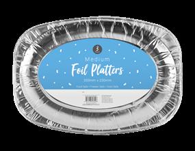 Medium Foil Platters