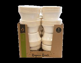 Wholesale Biodegradable Bagasse Bowls | Gem Imports Ltd