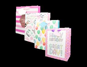 Wholesale Ladies Luxury Medium Gift Bags | Gem Imports Ltd