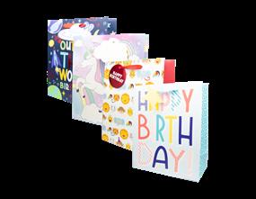 Wholesale Kids Luxury Extra Large Gift Bags | Gem Imports Ltd