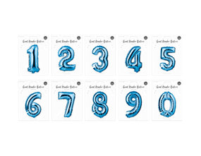 Wholesale Number Balloons | Gem Imports Ltd