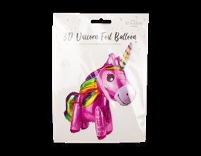 Wholesale Unicorn 3D Foil Balloons | Gem Imports Ltd