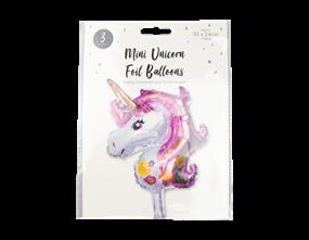 Wholesale Mini Unicorn Foil Balloons   Gem Imports Ltd