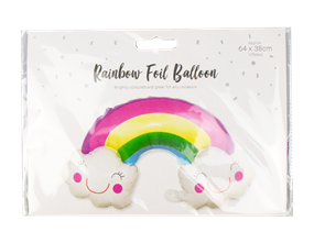 Wholesale Rainbow Foil Balloons | Gem Imports Ltd