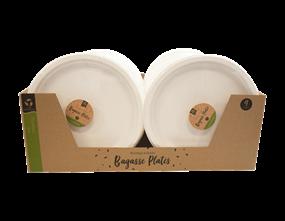 Wholesale Biodegradable Bagasse Plates | Gem Imports Ltd