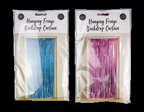 Wholesale Bright Fringe Backdrop Curtain | Gem Imports Ltd