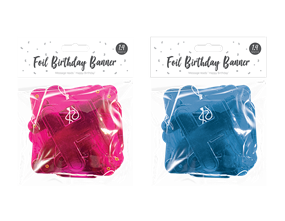Wholesale Happy Birthday Banners | Gem Imports Ltd