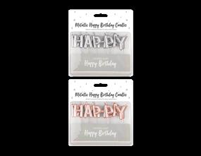 Wholesale Happy Birthday Candles | Gem Imports Ltd