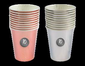 Wholesale Metallic Paper Cups