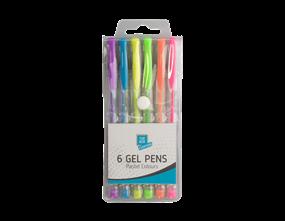 Pastel Scented Gel Pens - 6 Pack