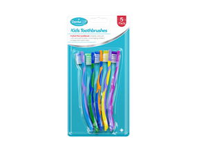 Childrens Toothbrushes - 5 Pack