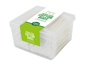 Cotton Buds Paper Stems - 200 pack