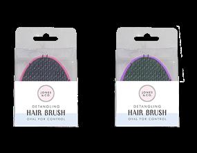 Wholesale Oval Detangling Hair Brushes | Gem Imports Ltd