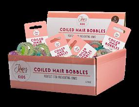 Wholesale Coloured Coiled Hair Bobbles | Gem Imports Ltd