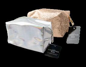 Wholesale Glitter Cosmetics Bags | Gem Imports Ltd