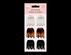 Wholesale Hair Claws 6 Pack | Gem Imports Ltd