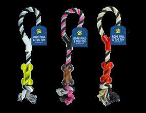Wholesale Rope Dog Pull & Tug Toys | Gem Imports Ltd