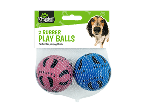 Wholesale Pet Rubber Play Balls | Gem Imports Ltd