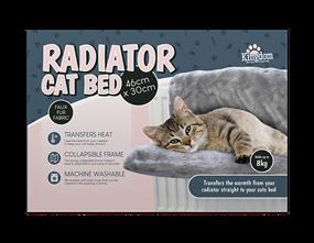 Faux Fur Cat Radiator Bed