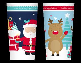 Wholesale Christmas Printed Plastic Tumbler | Gem Imports Ltd