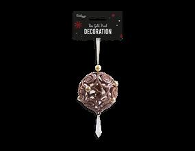 Wholesale Christmas Rose Gold Pearl Decoration | Gem Imports Ltd
