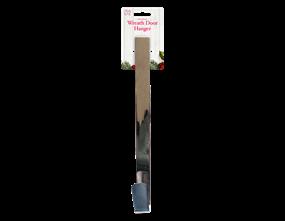 Wholesale Silver Christmas Wreath Door Hangers | Gem Imports Ltd