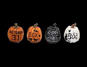 Slogan Pumpkin Ornament