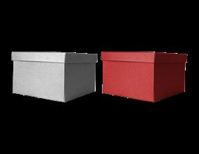 Wholesale Square Glitter Gift Boxes   Gem Imports Ltd