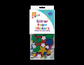 Wholesale Glittered Foam Craft Stickers | Gem Imports Ltd