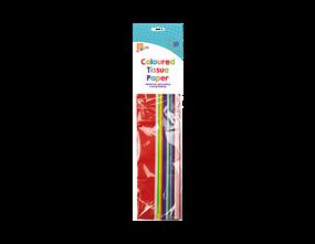 Coloured Tissue Paper 20pk