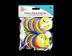 Wholesale Funny Expressions Foam Stickers | Gem Imports Ltd