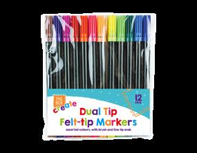 Wholesale Dual Tip Felt Pens | Gem Imports Ltd